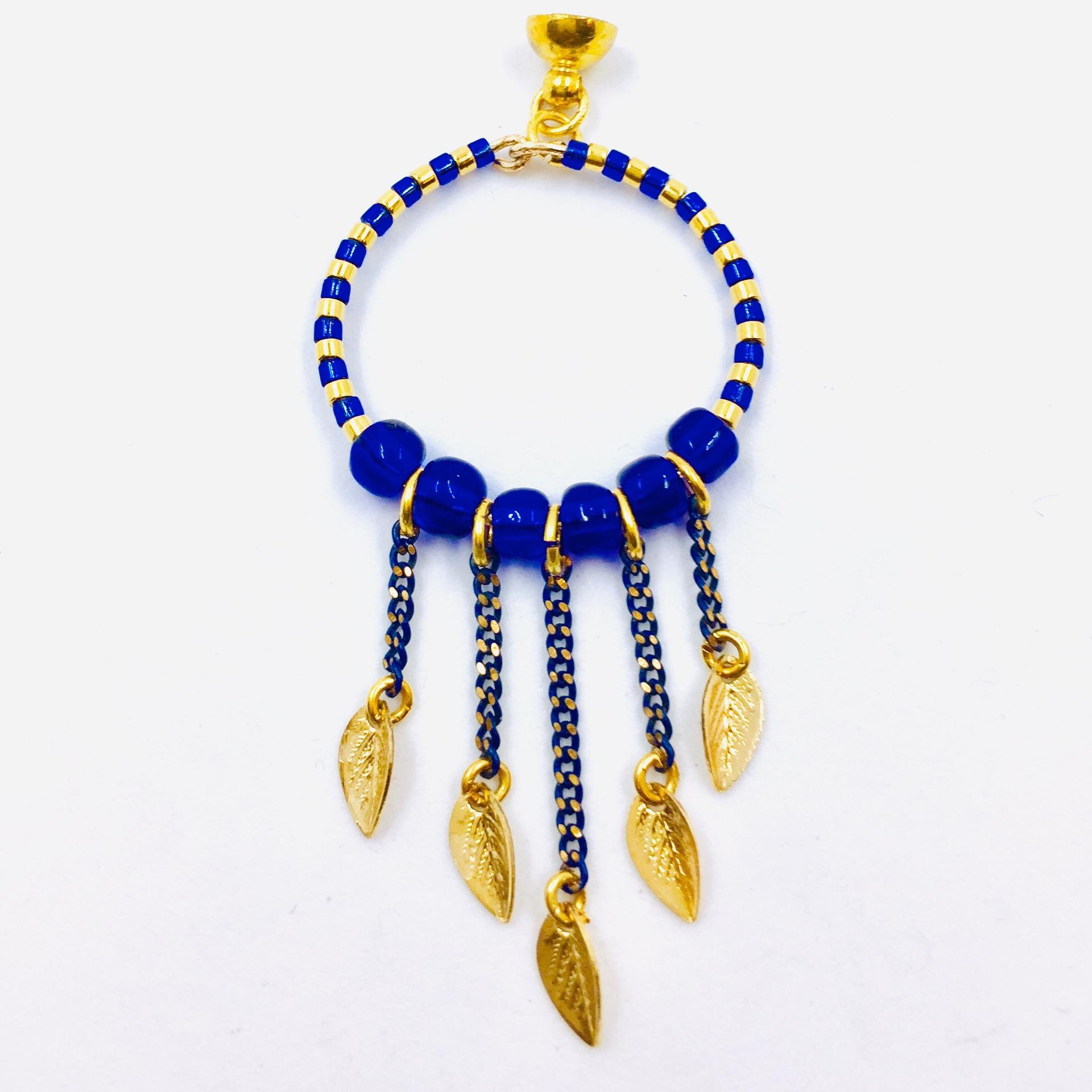 Pendentif Oniria - bleu égyptien